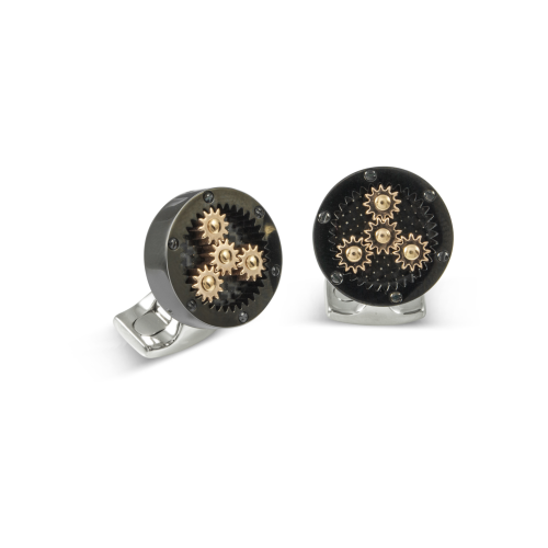 Deakin & Francis Sun & Planet Gear Cufflinks
