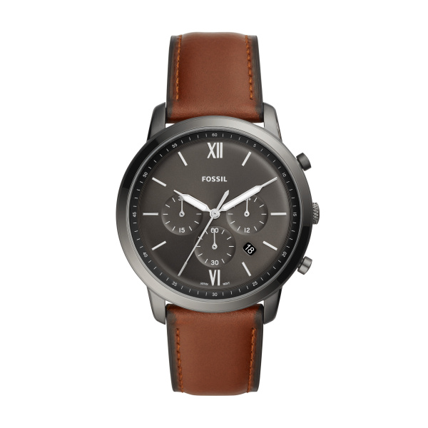 Fossil Gents Strapped Chronograph Watch FS5512